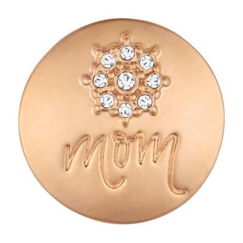 Rose Gold Center Flower Mom GingerSnap