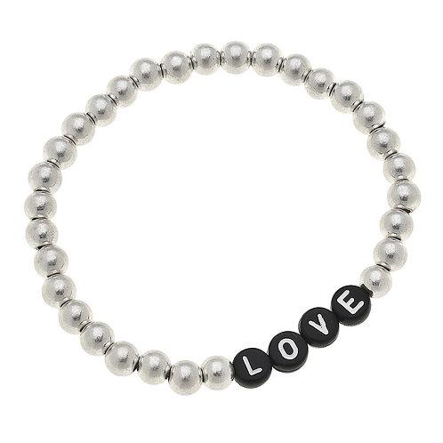 Caterina Silver Love Bracelet