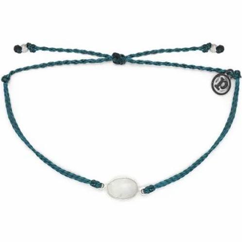 Pura Vida Moonstone Silver Mediterranean Bracelet