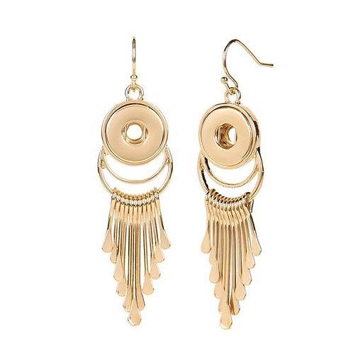 Gold Piper Earrings Petite GingerSnap