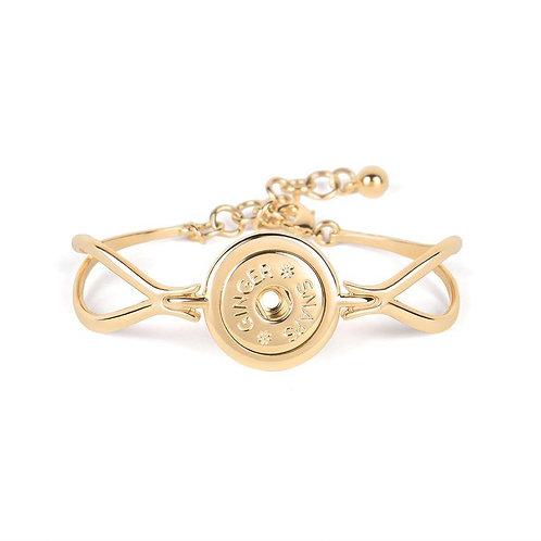 Gold Moonlit GingerSnap Bracelet