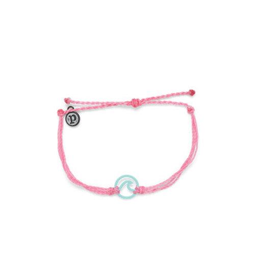 Wave Aqua Bracelet Light Pink