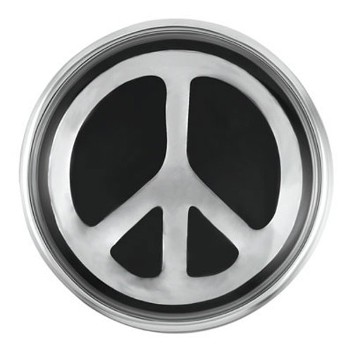 Petite Ginger Snaps Black Peace Sign