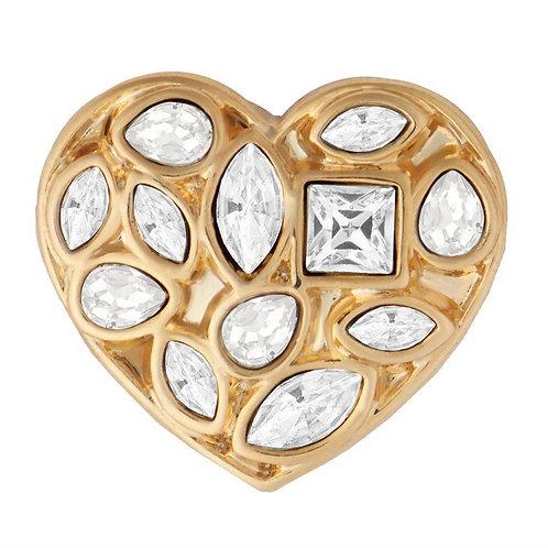 Gold Heart to Heart GingerSnap