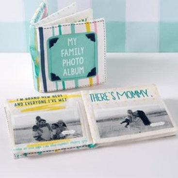 Mud Pie Family Fabric Photo Book