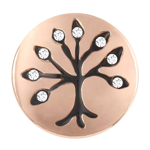 Rose Gold Family Tree Petite GingerSnap