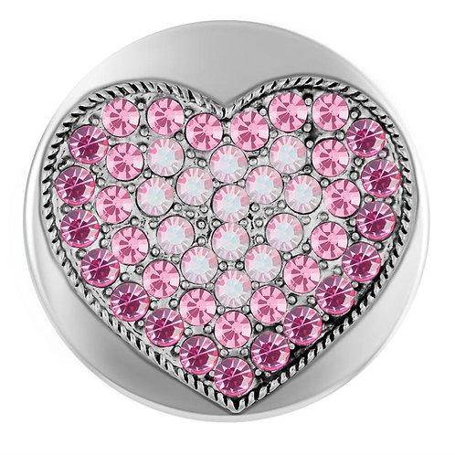 All My Heart Pink Heart GingerSnap
