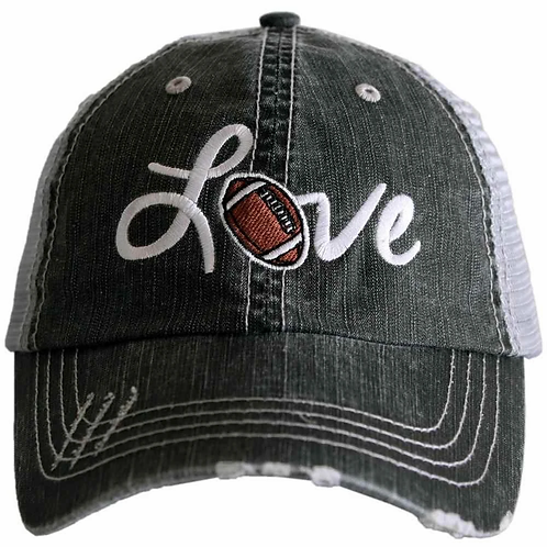 Love Football Trucker Hat