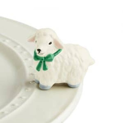 Nora Fleming Mini - I Love Ewe! Lamb
