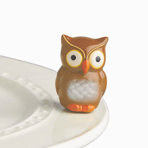 Nora Fleming Mini - Be WHOO You Are Owl