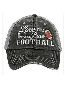 Love Me Like You Love Football Trucker Hat