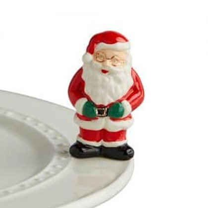 Nora Fleming Mini - Father Christmas Santa Claus