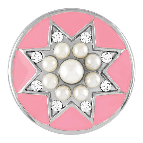 GINGER SNAPS PINK PEARL STAR