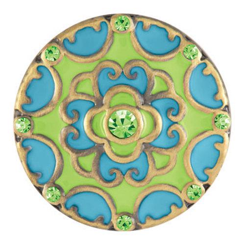 Blossom - Green & Aqua