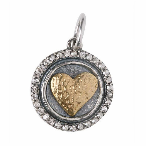 HEARTS CONTENT CHARM- HEART