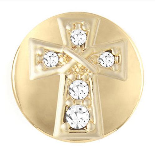 GOLD WRAPPED CROSS