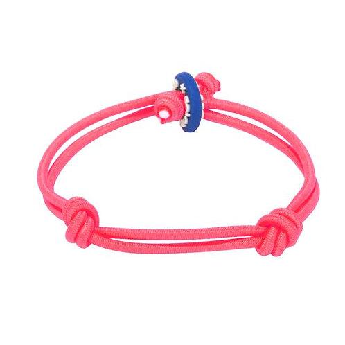 Colors for Good Friendship Neon Pink Bracelet
