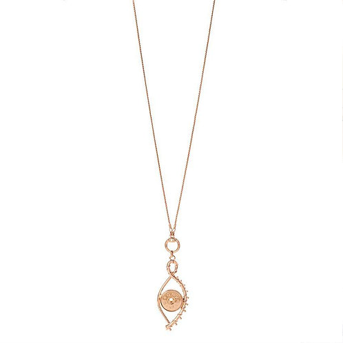 Rose Gold Dara Necklace GingerSnap