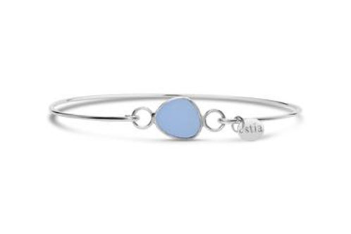 By the Sea Peri Sea Glass Bracelet