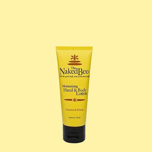 Naked Bee Moisturizing Hand & Body Lotion Coconut & Honey