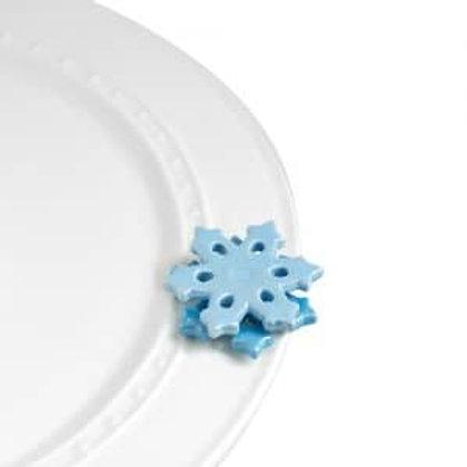 Nora Fleming Mini - No Two Alike! Snowflake