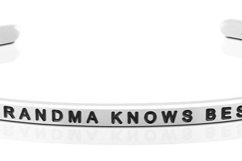 MantraBand Grandma Knows Best