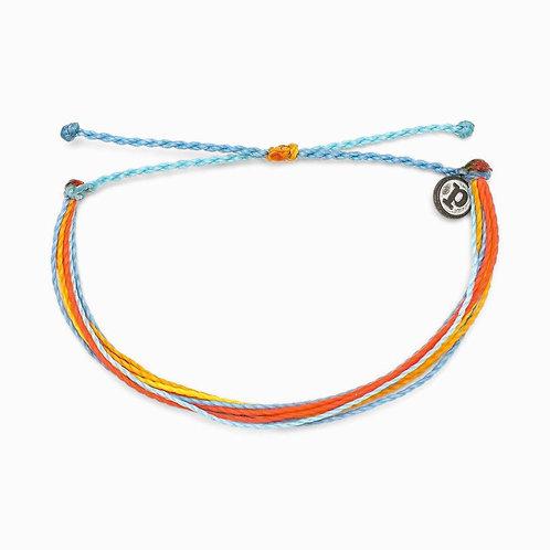 Pura Vida Originals Citrus Surfline Bracelet