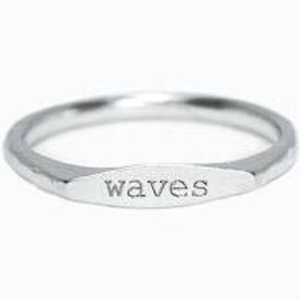 Pura Vida Waves Stacking Ring