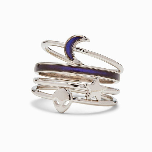 Lost in the Cosmos Ring Stack