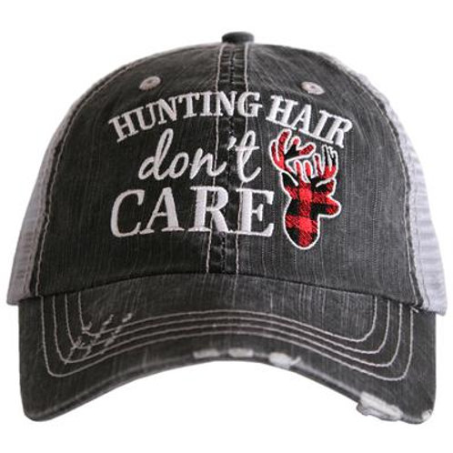 Hunting Hair Don't Care Trucker Hat