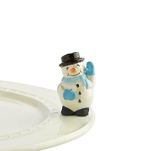 Nora Fleming Mini - Frosty Pal Snowman