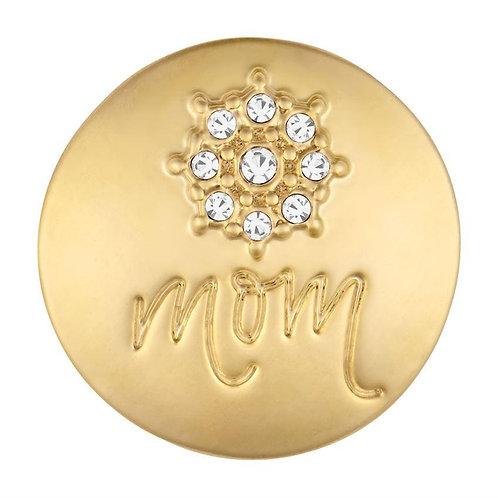 Gold Center Flower Mom GingerSnap