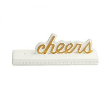 Nora Fleming Cheers Sign