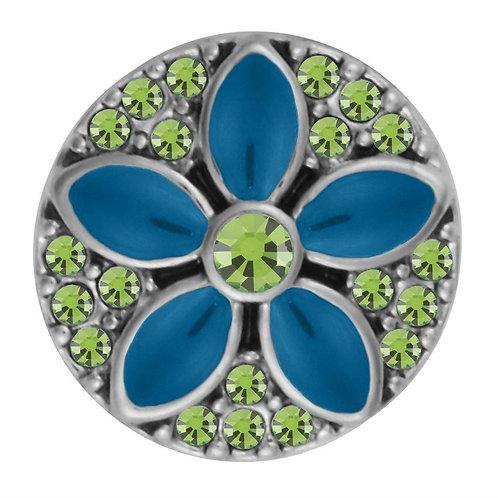 Maris Flower Aqua/Green Petite GingerSnap