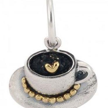 Personal Vocabulary Charm - Cappuccino Love