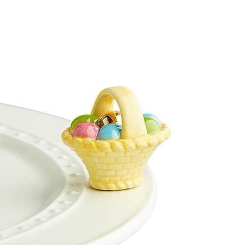 Nora Fleming Mini - a Tisket, a Tasket Easter Basket
