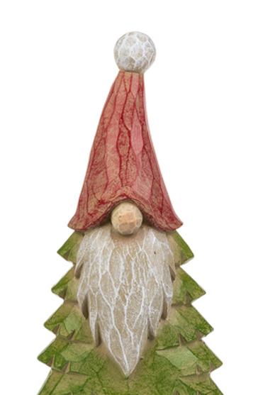 Santa Gnome with Tree