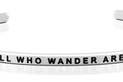MantraBand Not All Who Wander Are Lost