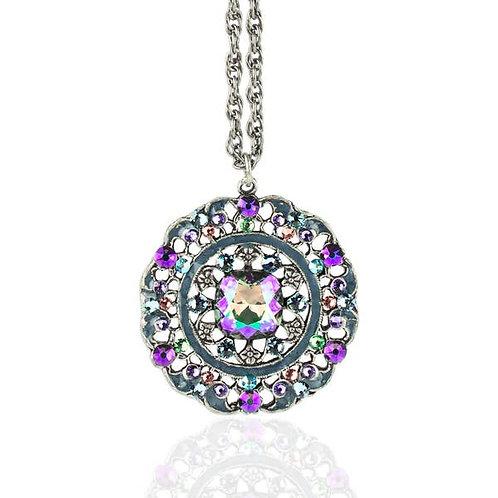 Large Pendant Necklace Paradise Shine