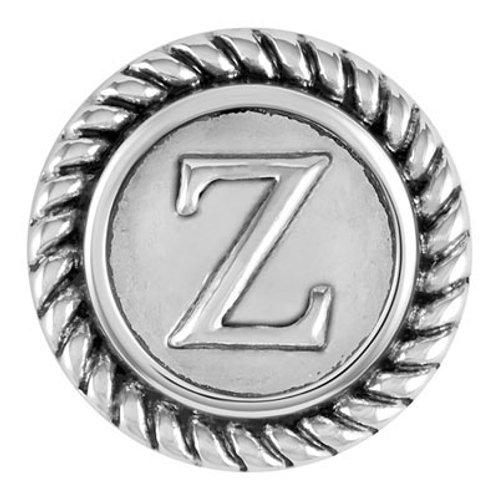 Letter Z Rope Snap Zeta