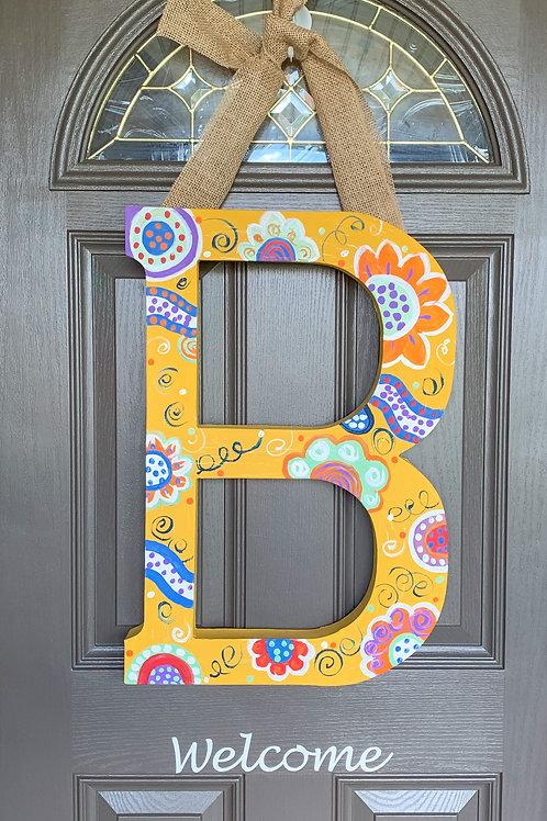 Custom Door Letter