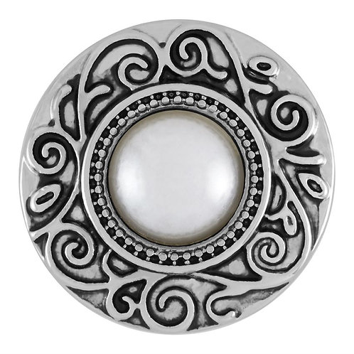 GINGER SNAPS SCROLL WHITE PEARL