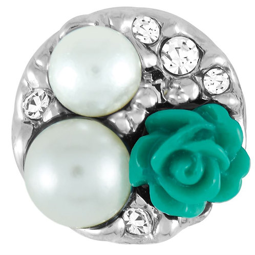 GINGER SNAPS PETITES TURQUOISE PEARL GARDEN