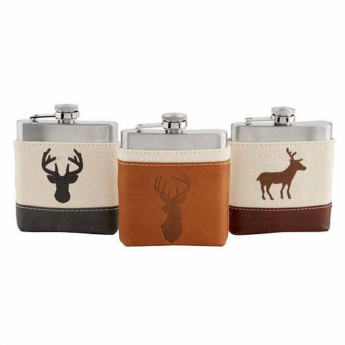 Deer Flasks