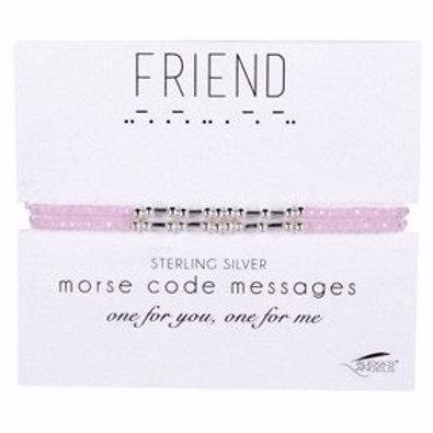 Best Friends Morse Code Bracelets