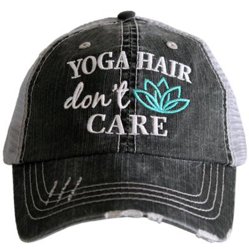 Yoga Hair Don't Care Trucker Hat