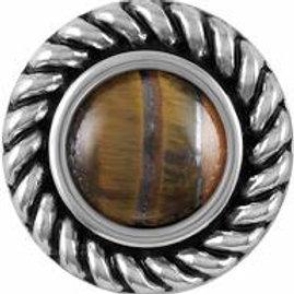 Lariat Tiger's Eye Snap