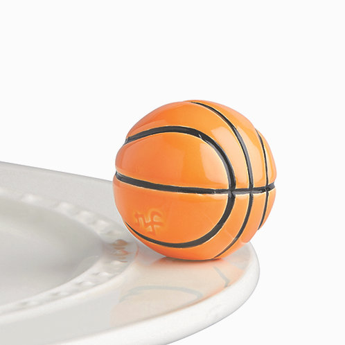 Nora Fleming Mini - Hoop there It Is Basketball