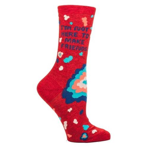 Not Here to Make Friends Women's Socks