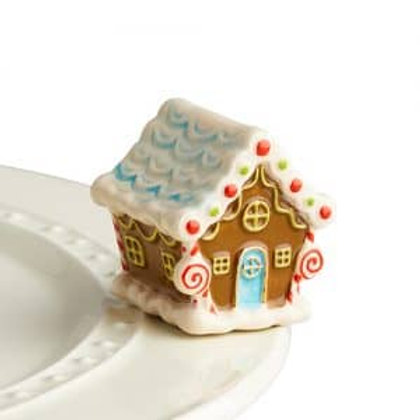 Nora Fleming Mini - Candyland Lane Gingerbread House